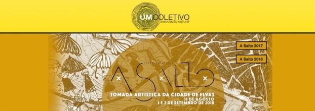A SALTO - Tomada Artística da Cidade de Elvas