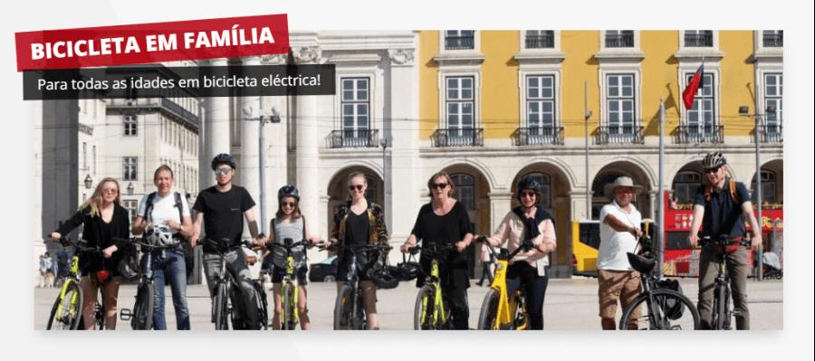 Visita guiada - Bicicleta em família (Bicicleta Eléctrica)