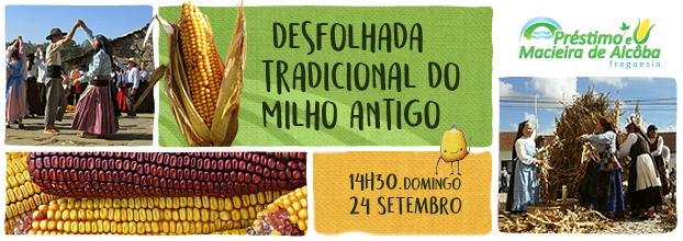 Desfolhada Tradicional do milho antigo
