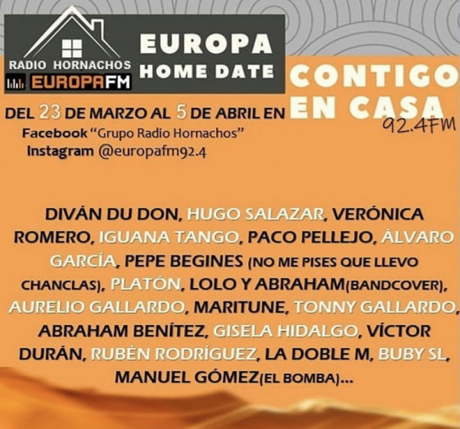 EUROPA HOMEDATE   Radio Hornachos