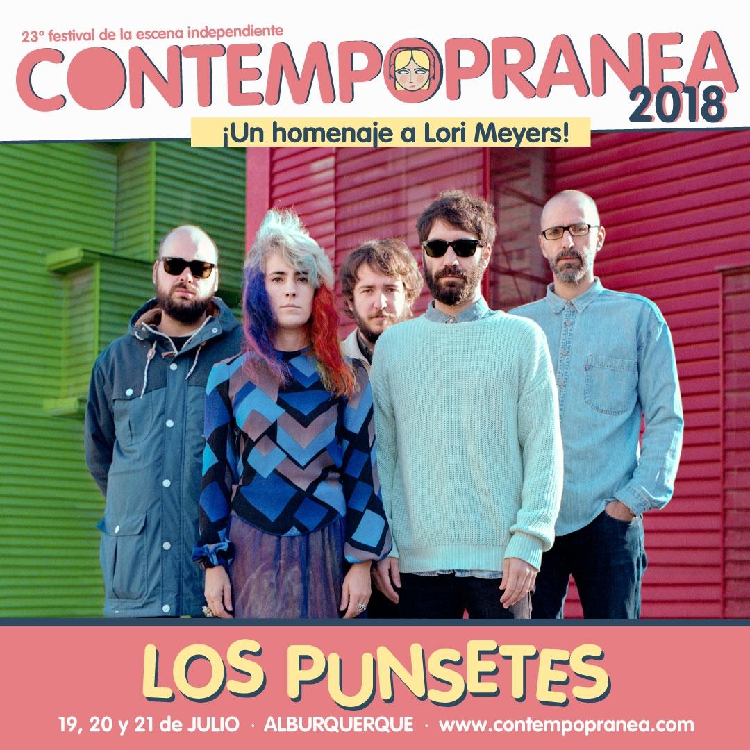 LOS PUNSETES // Escenario PASEO DE LAS LADERAS