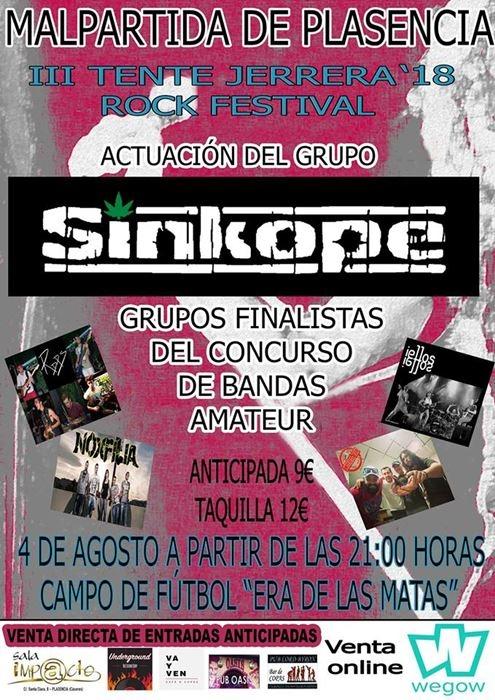 Tente Jerrera Rock Festival || Malpartida de Plasencia