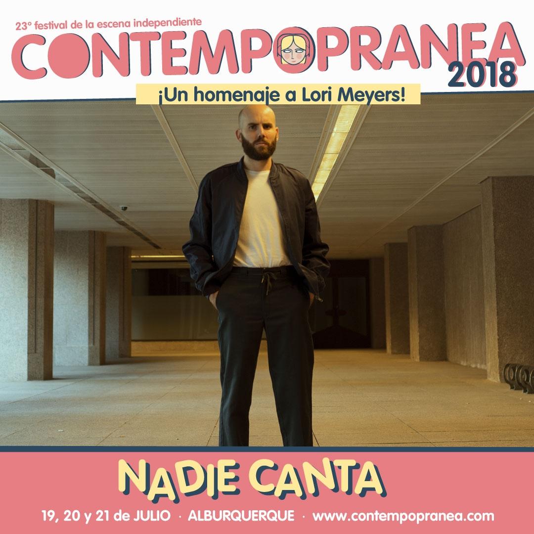 NADIE CANTA // Escenario SERGIO ALGORA