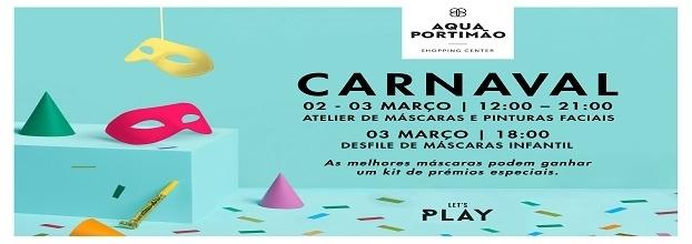Aqua Portimão brinca ao Carnaval