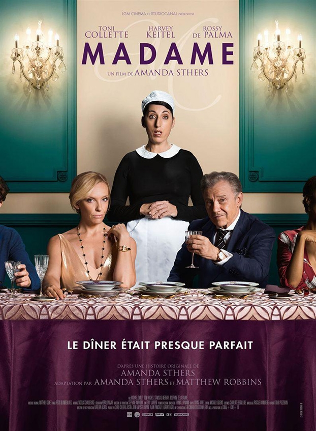 Festival de cine europeo 2019. Madame. Francia