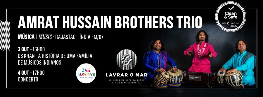 AMRAT HUSSAIN BROTHERS TRIO