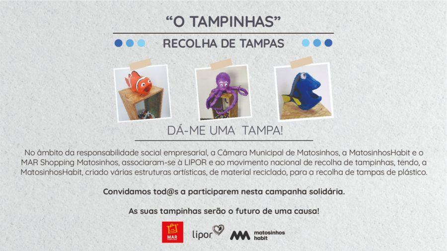 'Operação Tampinhas' instala-se no MAR Shopping Matosinhos para transformar o plástico em equipamentos para quem mais precisa