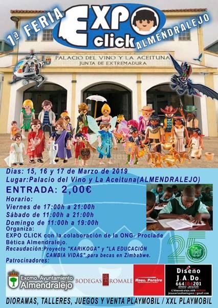 I Feria ExpoClick Almendralejo | SÁBADO