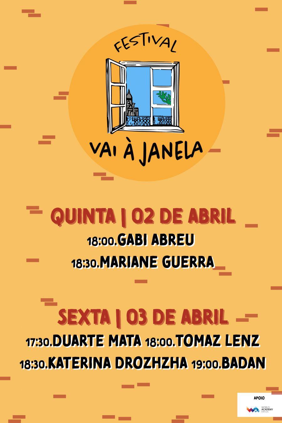 Festival Vai à Janela