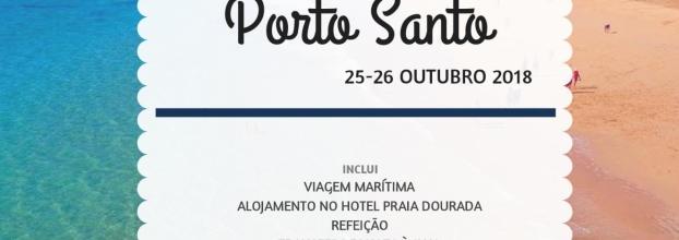 Viagem ao Porto Santo 25 - 26 de outubro de 2018
