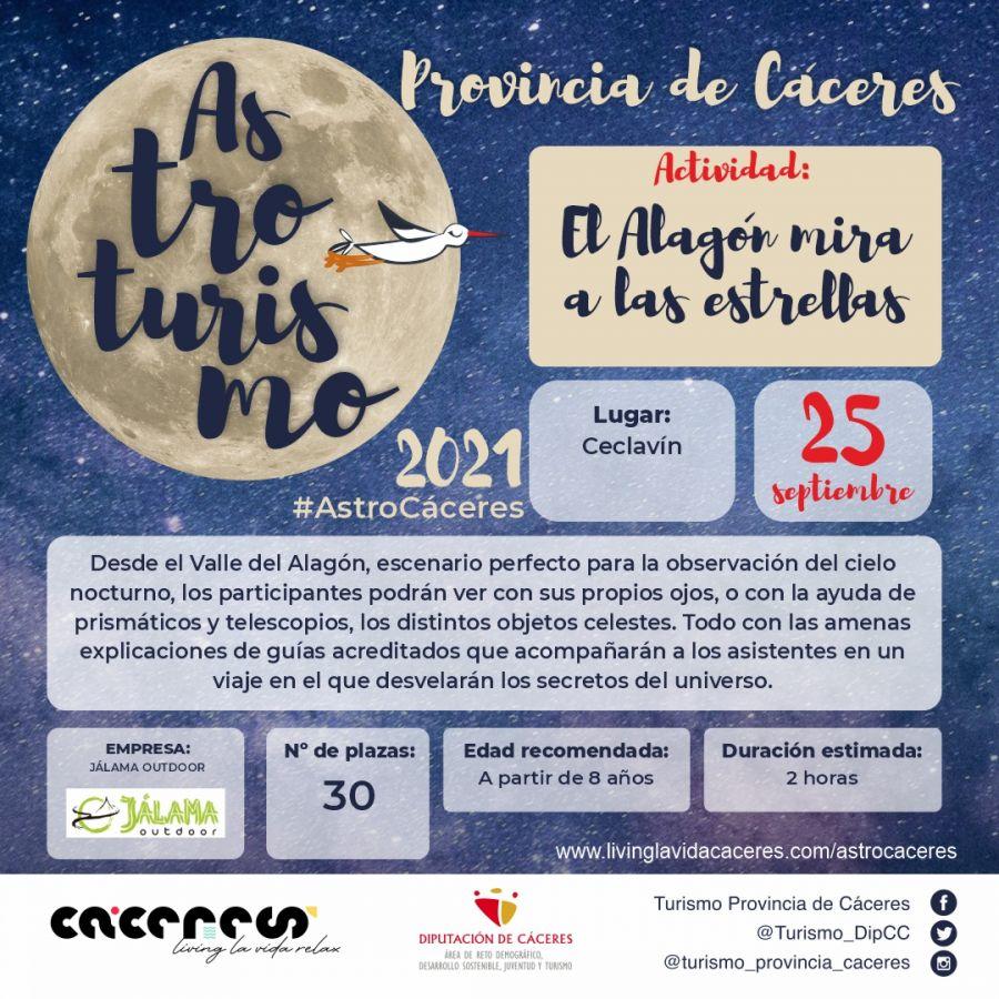 Astro Cáceres 2021 | El Alagón mira las estrellas. Mirando el cielo de manera distinta