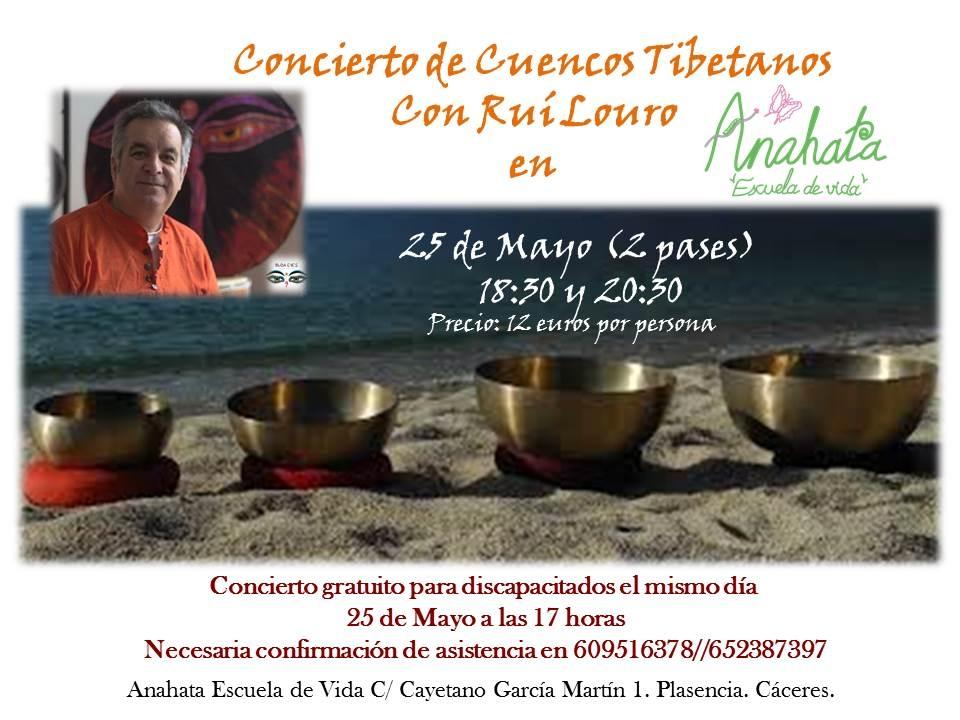 Concierto de Cuencos Tibetanos por Rui Louro
