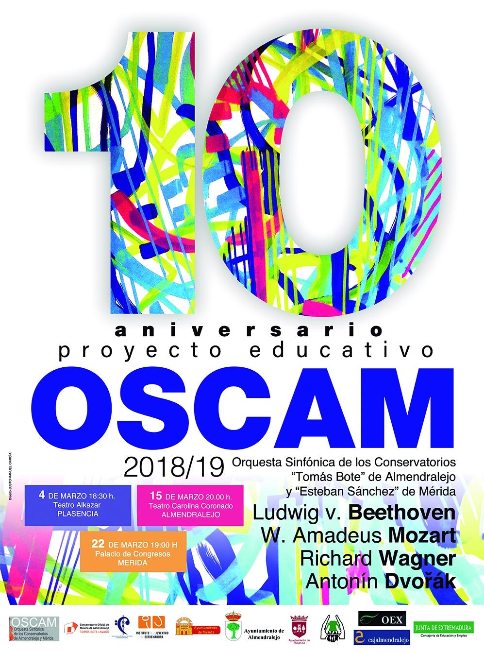 """CONCIERTO 10º ANIVERSARIO """"OSCAM"""""""