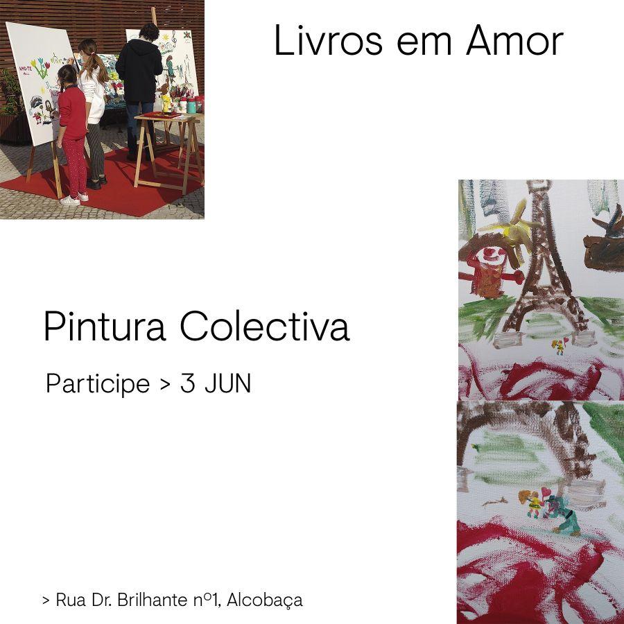 Livros em Amor - Pintura Coletiva