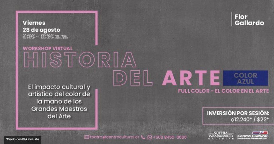 Historia del arte, bloque AZUL III sesión (online workshop)