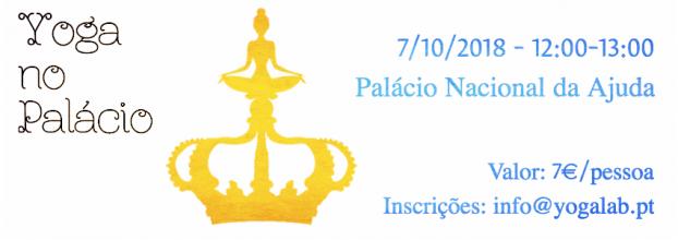 Yoga no Palácio Nacional da Ajuda - 7 de Outubro 12h00