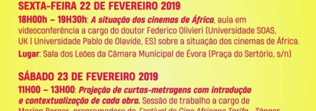 Sessão de Cinema Africano com debate