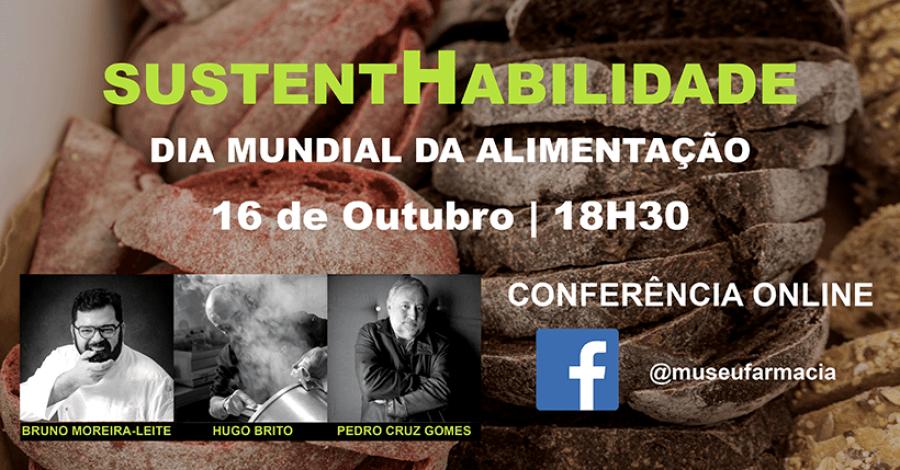 Conferência 'SustentHabilidade - Alimentação e Gastronomia' (online)