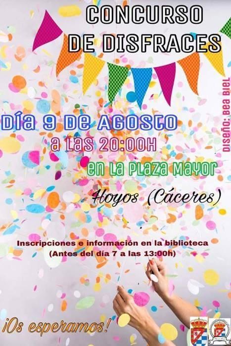 Concurso de Disfraces San Lorenzo 2018 || Hoyos