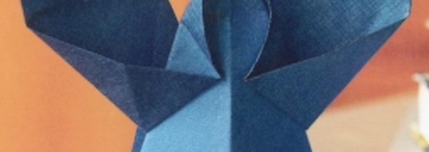 A todos um origami de natal viral agenda - Origami para todos ...