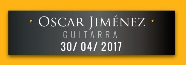 Conciertos Heredianos. Oscar Jiménez