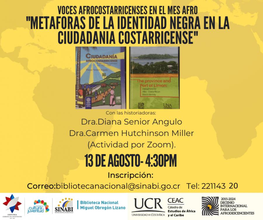 Metáforas de la identidad negra en la ciudadanía costarricense
