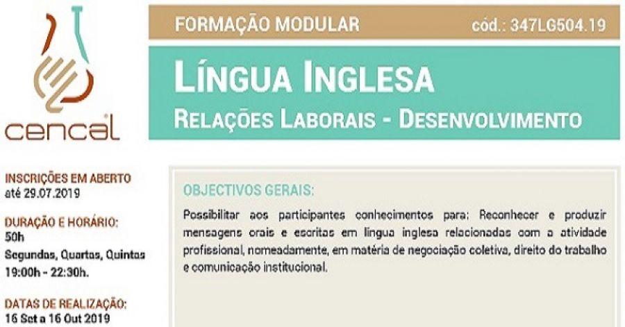 Língua Inglesa - Relações Laborais - Desenvolvimento