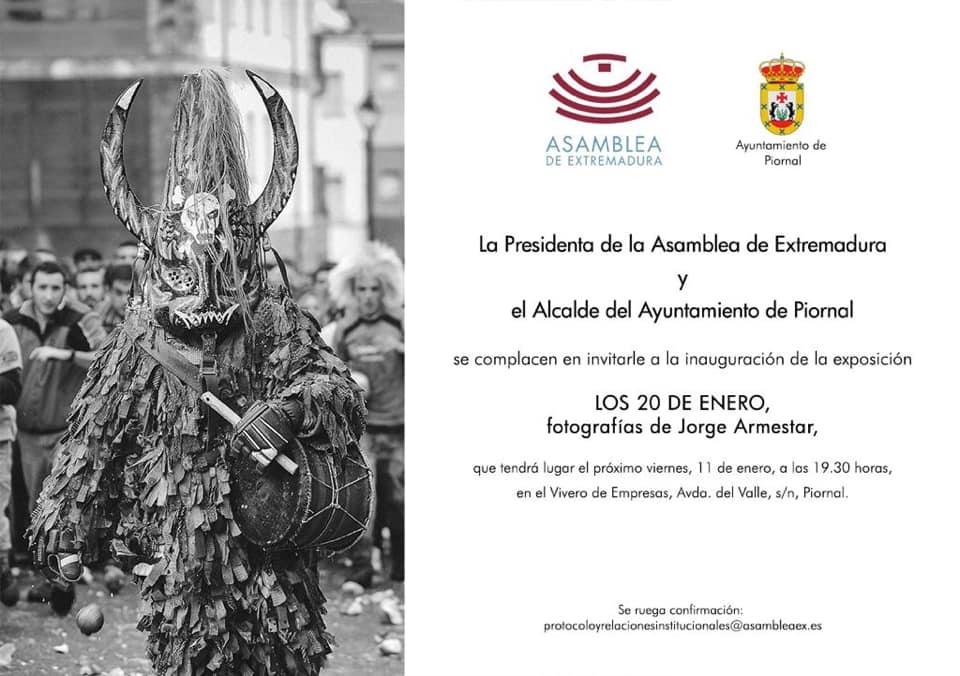 Presentación de la exposición 'Los 20 de enero' de Jorge Armestar | Piornal