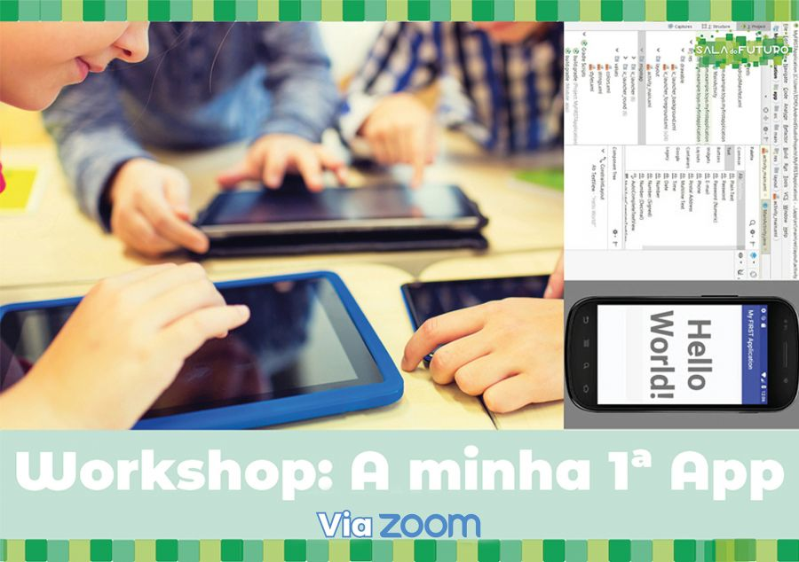Workshop: A minha 1ª App