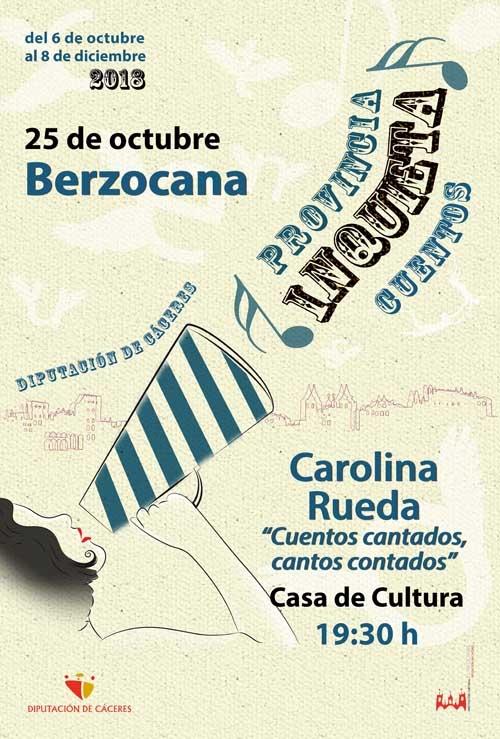 Provincia inquieta   CUENTACUENTOS: Carolina Rueda