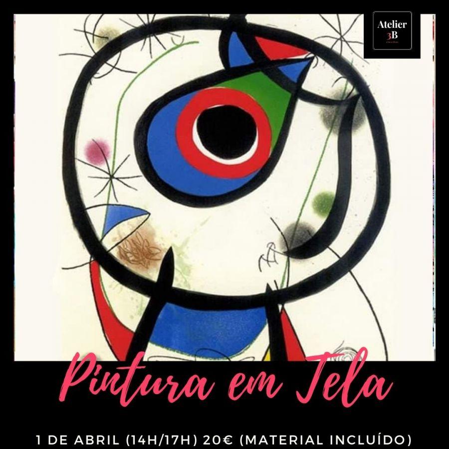 Pintura em tela (Miró)