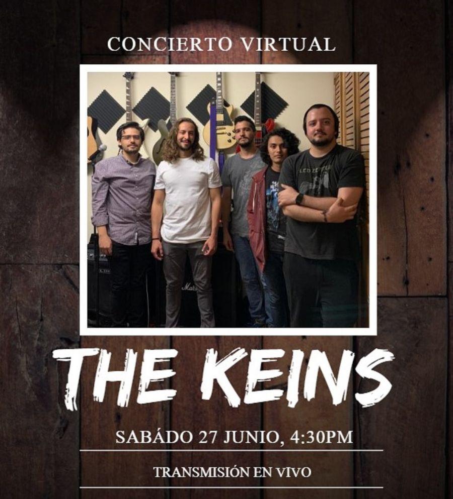 Concierto virtual con The Keins. Municipalidad de Belén