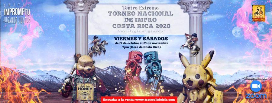 Torneo Nacional de Impro: Teatro Extremo- Costa Rica 2020