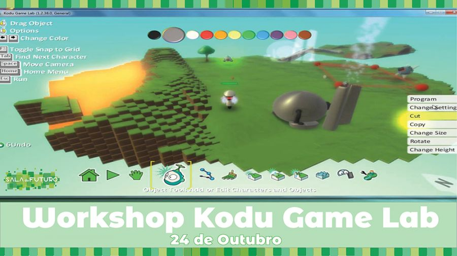 Workshop Kodu Game Lab