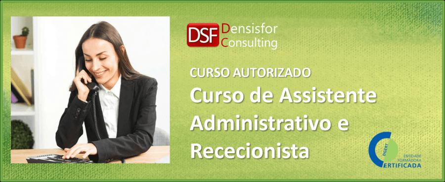Curso - Assistente Administrativo e Rececionista - Évora