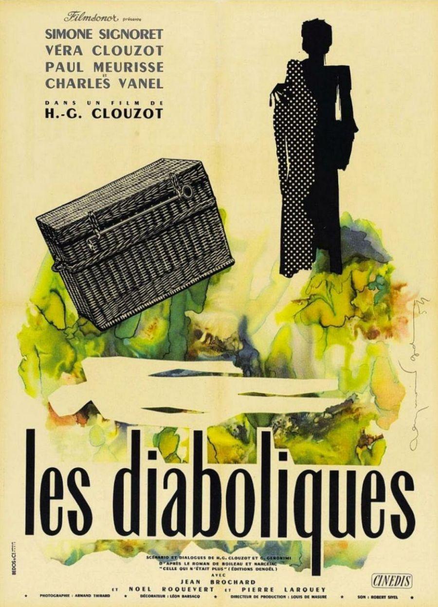 Las diabólicas. H.G. Clouzot. Francia. 1955