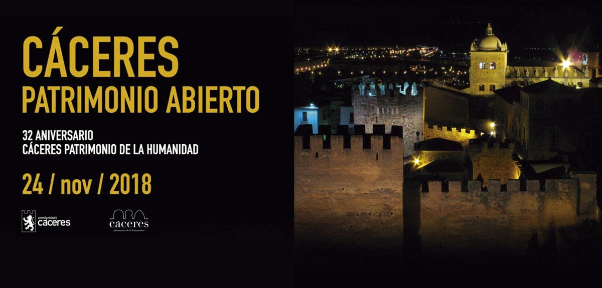 CÁCERES PATRIMONIO ABIERTO | Jornada de Puertas Abiertas