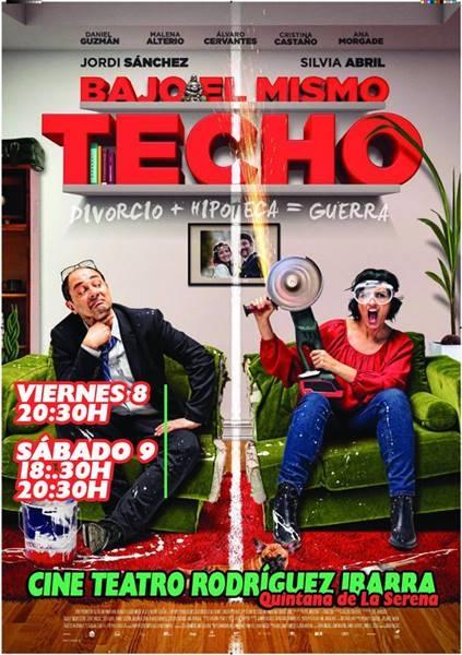 Proyección 'Bajo el mismo techo' || Cine Teatro Rodríguez Ibarra
