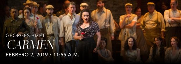 Carmen de Georges Bizet. Opera. Transmisión en vivo