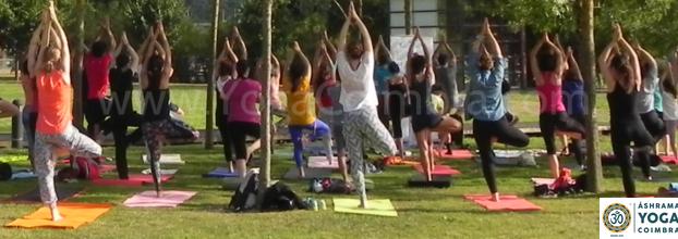 Yoga no Parque - Verão em Coimbra 2018