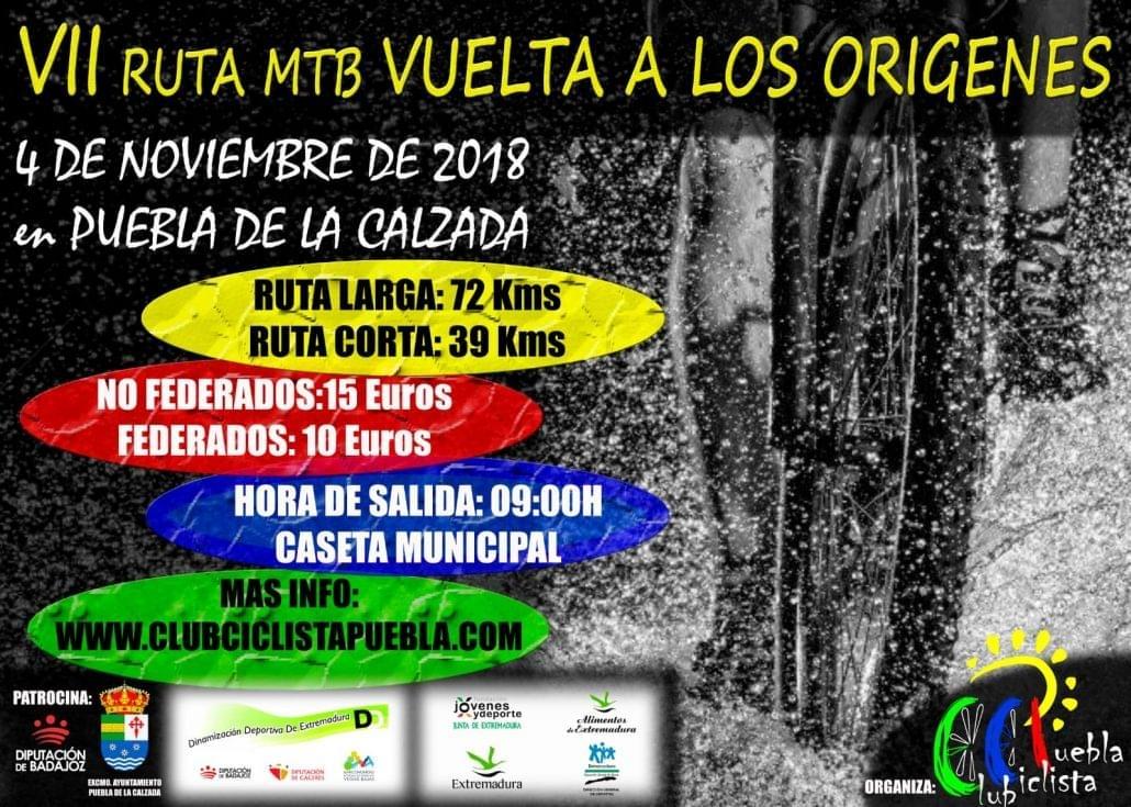 VII Ruta MTB Vuelta a los Orígenes