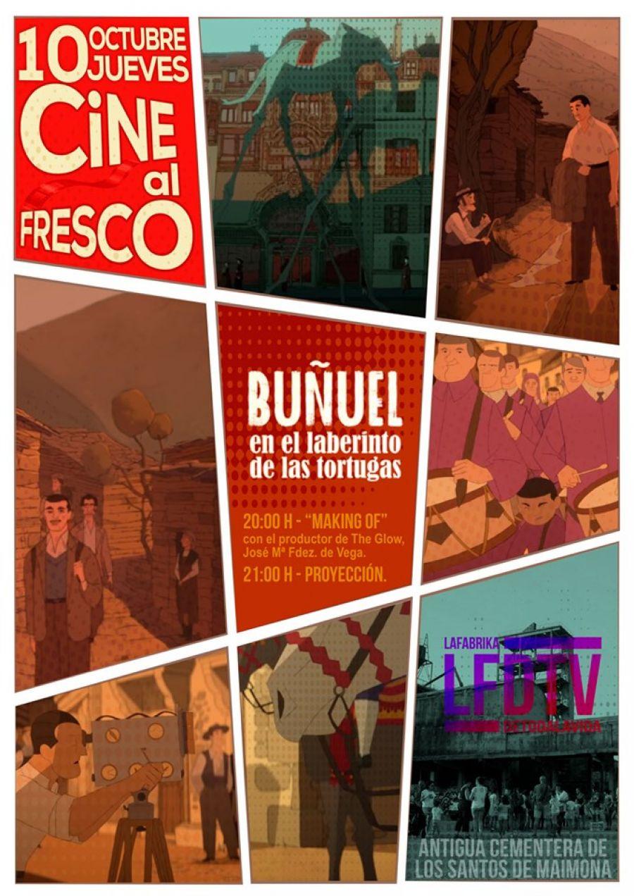 Cine al Fresco: Buñuel en el laberinto de las tortugas