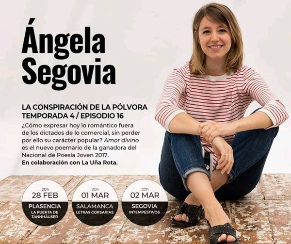Ángela Segovia en la Librería La Puerta de Tannhäuser