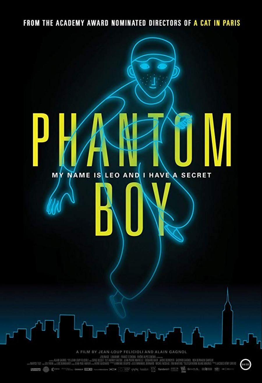 Noche en blanco. Phantom boy, la jeune fille sans mains & la planeté sauvage