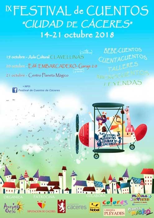 """IX Edición del Festival de Cuentos """"Ciudad de Cáceres"""""""