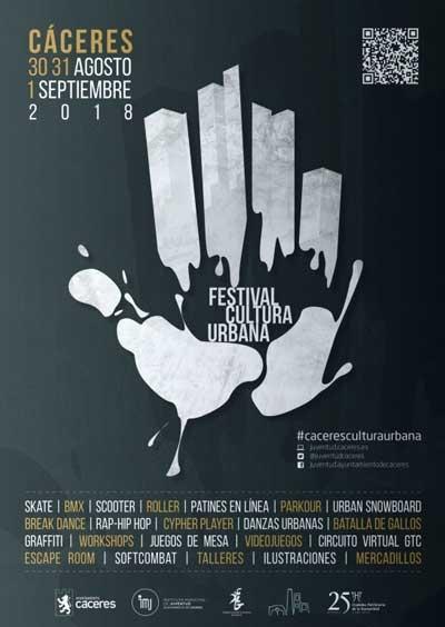 VI FESTIVAL DE CULTURA URBANA - CÁCERES 2018