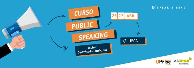 Curso Public Speaking - Barcelos