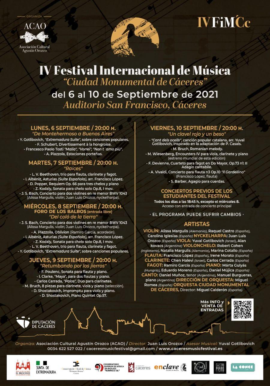 Festival Internacional de Música 'Ciudad monumental de Cáceres'