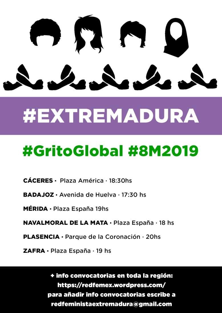 8 DE MARZO 2019 | Badajoz