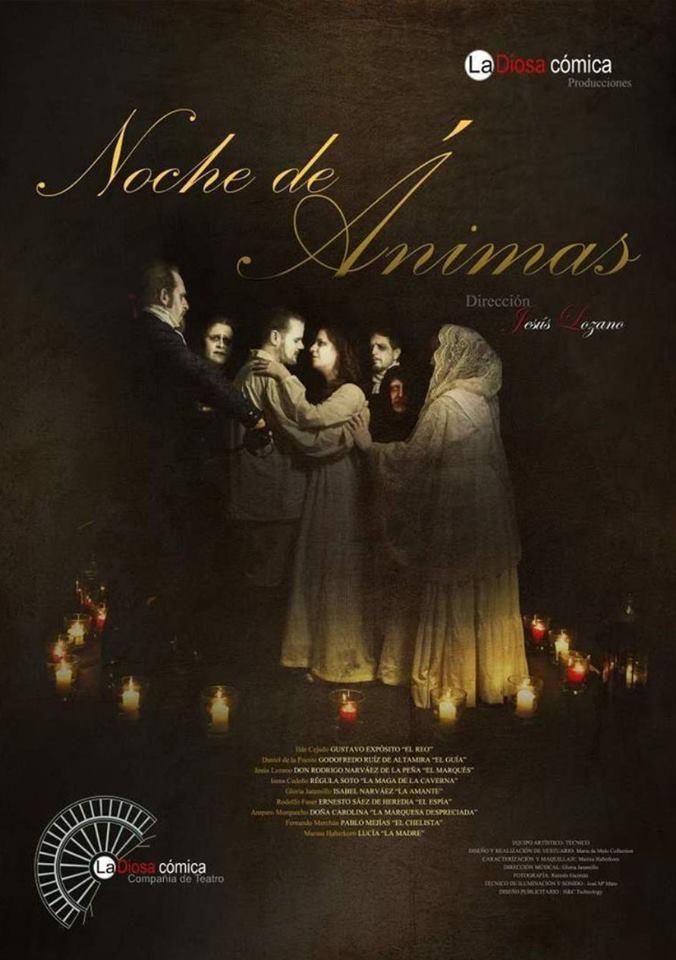 Teatro callejero «Noche de ánimas» || Berlanga